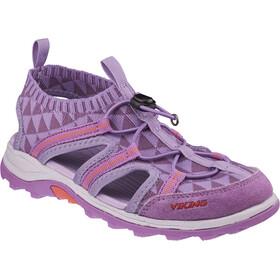 Viking Footwear Ulvik Sandals Juniors Lavender/Coral